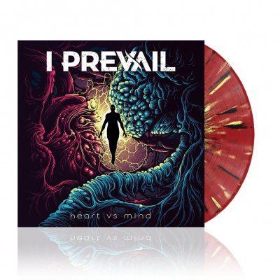 i-prevail - Heart vs. Mind | Oxblood Red w/ Black & Yellow Spl