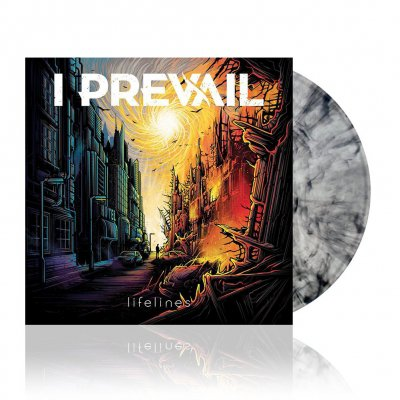 i-prevail - Lifelines | Clear w/Black Smoke Vinyl