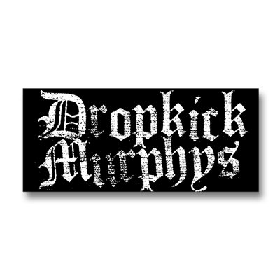 Dropkick Murphys - Faded Old English | Sticker