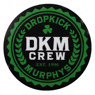 Dropkick Murphys - Crew | Sticker