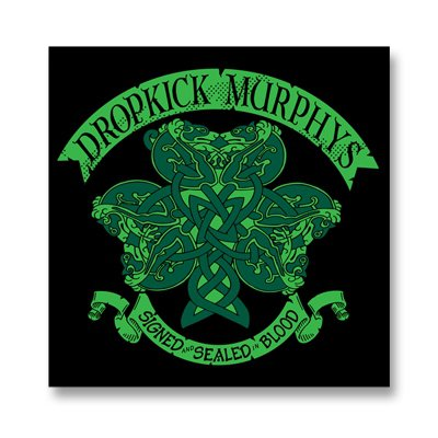 dropkick-murphys - Knotwork Shamrock | Sticker
