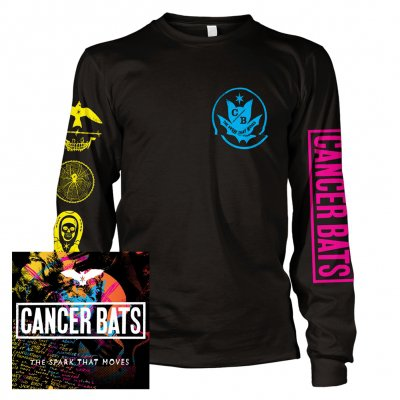 cancer-bats - The Spark That Moves | CD + Longsleeve Bundle