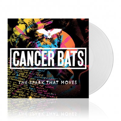 Cancer Bats - The Spark That Moves | White Vinyl