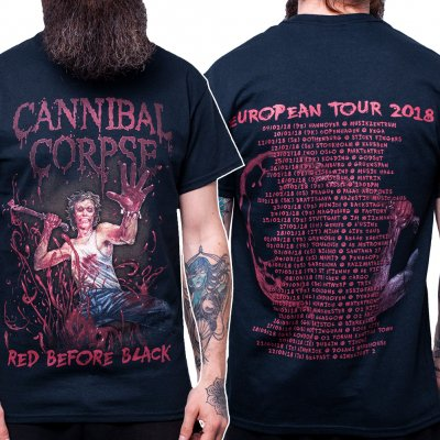Cannibal Corpse - Red Before Black EU Tour 2018 | T-Shirt