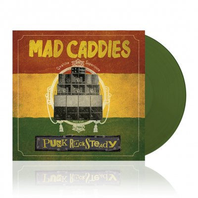 Mad Caddies - Punk Rocksteady | Olive Green Vinyl
