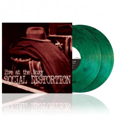 Social Distortion - Live At The Roxy | 2xSmoke Green Vinyl