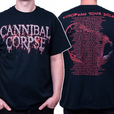 Cannibal Corpse - Logo EU Tour 2018 | T-Shirt
