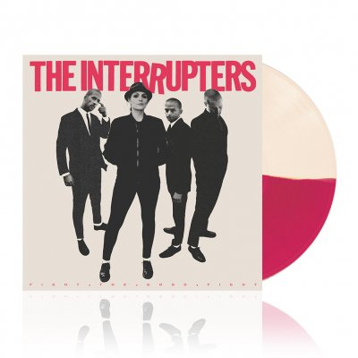 The Interrupters - Fight The Good Fight | Hot Pink/Bone Vinyl