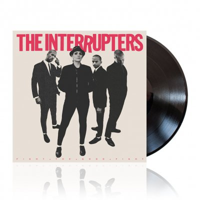 The Interrupters - Fight The Good Fight | Black Vinyl
