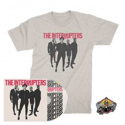 the-interrupters - Fight The Good Fight | CD + T-Shirt + Pin Bundle