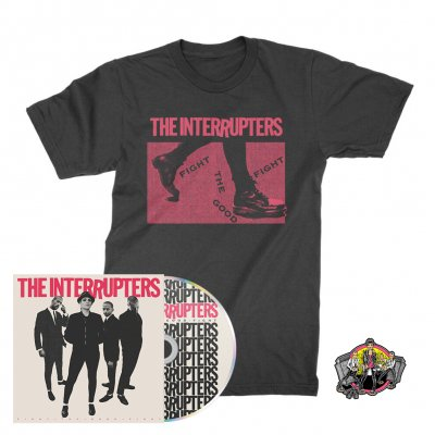 The Interrupters - Boots | CD + T-Shirt + Pin Bundle