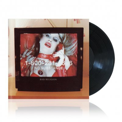 Bad Religion - No Substance Remastered | Black Vinyl