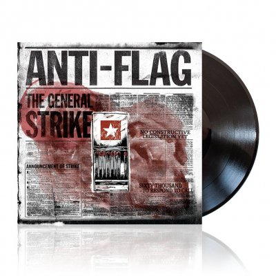 Anti-Flag - The General Strike | Black Vinyl