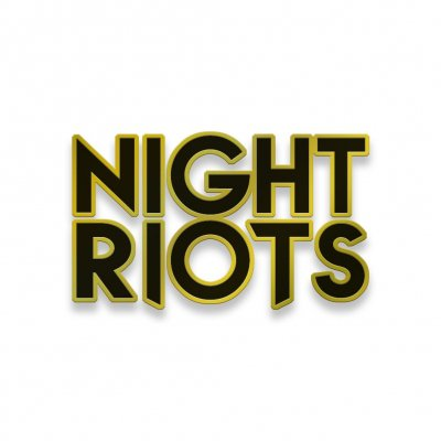 Night Riots - Logo | Enamel Pin
