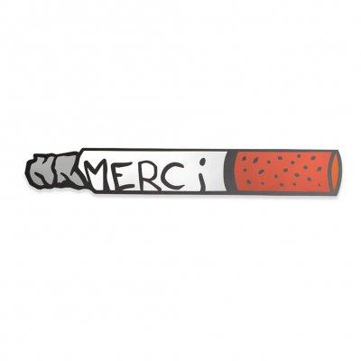 Save Face - Cigarette   Enamel Pin
