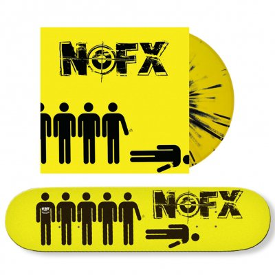 NOFX - Wolves In Wolves' Clothing | Vinyl + Skatedeck Bundle