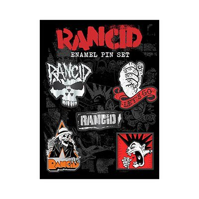 rancid - Pin Set | Enamel Pin Set