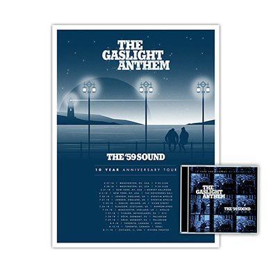 The Gaslight Anthem - The '59 Sound Sessions | CD + Poster Bundle