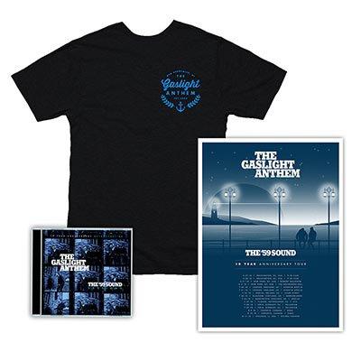 The Gaslight Anthem - The '59 Sound Sessions | CD + T-Shirt + Poster Bundle