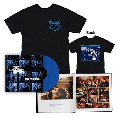 The Gaslight Anthem - The '59 Sound Sessions | DLX Blue LP + T-Shirt Bundle