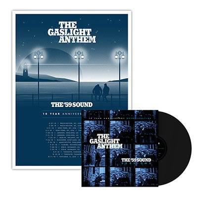The Gaslight Anthem - The '59 Sound Sessions | Black LP + Poster Bundle