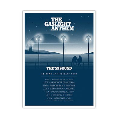 The Gaslight Anthem - 10 Year | Poster