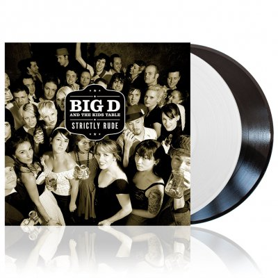 Big D And The Kids Table - Strictly Rude | 2xWhite&Black Vinyl