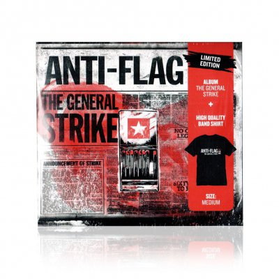 Anti-Flag - The General Strike | CD+Medium T-Shirt