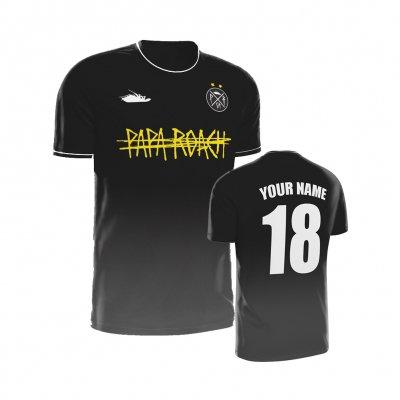 Papa Roach - Yellow Logo Custom | Soccer Jersey