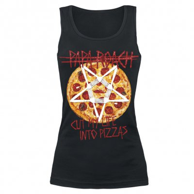 Papa Roach - Pizza | Girl Tank Top