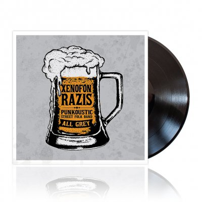 Xenofon Razis - All Grey | Black Vinyl