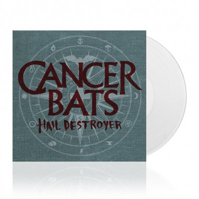 cancer-bats - Hail Destroyer | White Vinyl