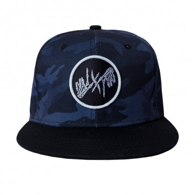 I Prevail - Skele Patch Night Camo | Snapback Cap