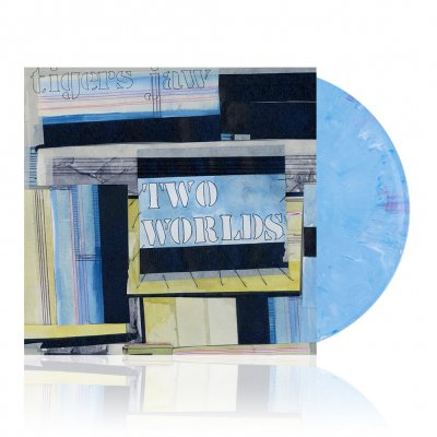 tigers-jaw - Two Worlds | Blue/Red/White Marble Vinyl