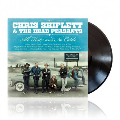Chris Shiflett - All Hat And No Cattle | Black Vinyl