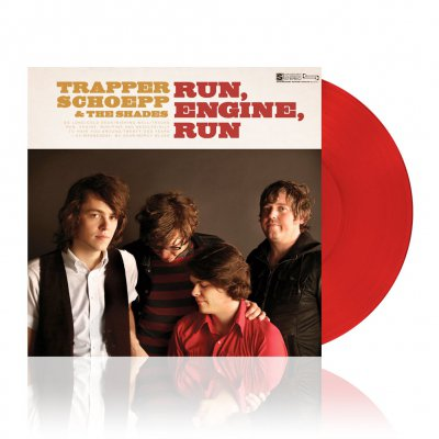 Trapper Schoepp - Run, Engine, Run | Clear Red Vinyl