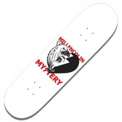 Millencolin - Mystery Polar Heart White | Skatedeck