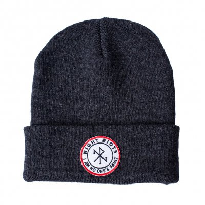 night-riots - Symbol Charcoal | Beanie