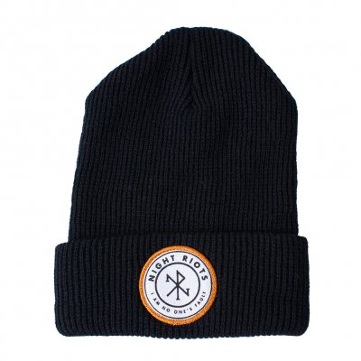 night-riots - Symbol Black | Beanie