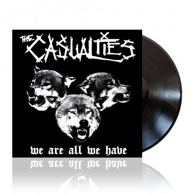The Casualties - We Are All We Have | Black Vinyl