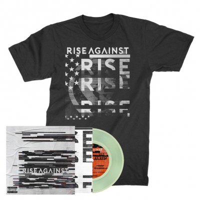 rise-against - Megaphone | 7inch + T-Shirt Bundle