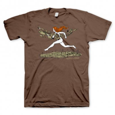 neko-case - On The Run | T-Shirt