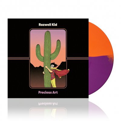 Precious Art | Orange/Purple Vinyl