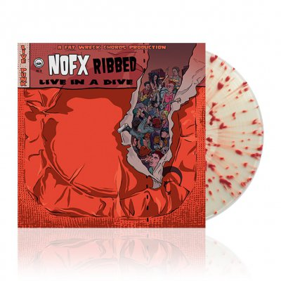 NOFX - Ribbed - Live in a Dive   Malachi Crunch Vinyl