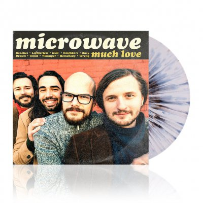 Microwave - Much Love | White w/ Black Splatter Vinyl