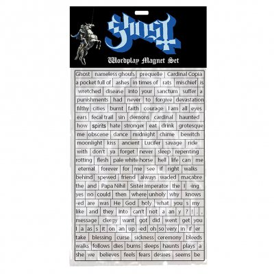 Ghost - Prequelle | Magnet Set