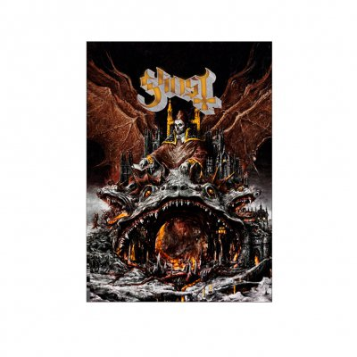 Ghost - Prequelle | Gold Foil Poster