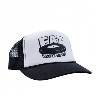 fat-wreck-chords - Logo | Trucker Cap Black