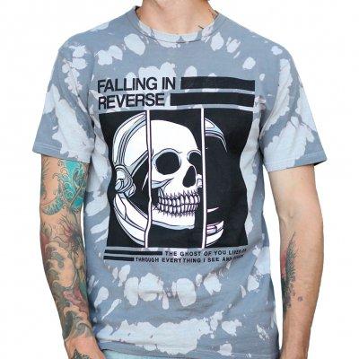 Falling In Reverse - Helmet Skull Tie Dye | T-Shirt