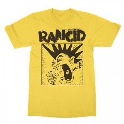 rancid - Screaming Mohawk Yellow | T-Shirt